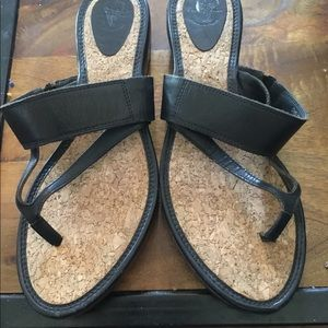 Frye sandals size 9. Chelsea thong